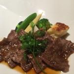 都 - 牛肉のランチ