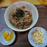 近江かね安 - 大盛焼肉丼(1500円)