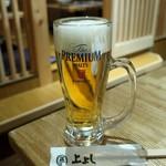 蔵元直送酒場 上よし - 生ビール
