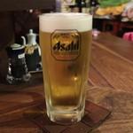 美味ひでき - 生ビール