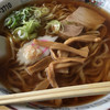 まるいち食堂 - 料理写真:ラーメン・大盛り(¥500+¥50)