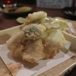 美味ひでき - 穴子天ぷら