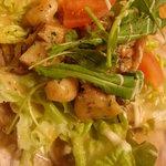 美酒美肴 くすのき - 海鮮サラダです。