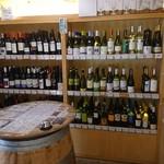 ワインの王子様 - ワイン棚