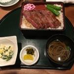 レストラン千成亭 - 千成亭和風ステーキ重