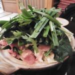 玉勝 - 火入れ前のお鍋