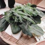 玉勝 - 追加のお野菜