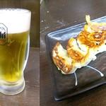 鶏白湯専門店 五星村 - ビールセット