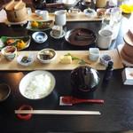 "Ribaritoritogaraku - 朝食は 富山の食材に拘る ""和彩膳所  樂味"" で頂きました。  2015.08.08"
