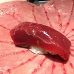 第三春美鮨 - シビマグロ 225kg 腹上二番 赤身 熟成4日 延縄漁 和歌山県那智勝浦