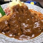 とんかつ本田 - 料理写真:まろやかなソースがたっぷり ※ロースとんかつ定食900円(税込)