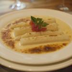 厨房ゼニヤ - 料理写真:ホワイトアスパラ