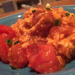 Saisaishokudou - 蔡菜食堂(東京都中野区中野)トマト卵炒め 1000円