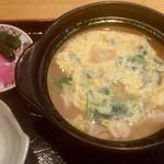 レストラン 海朱 - かに雑炊