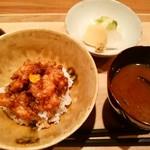 銀屋 - 小海老のかき揚げ天丼