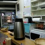 やきそば 和 - 厨房