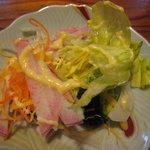 お食事の店萬福 - セルフサービスのサラダ食べ放題
