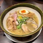 らー麺 潮騒 - 貝香る潮〜sio〜