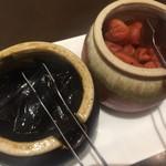 文化亭 - 昆布の佃煮と梅干
