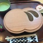 廚菓子くろぎ - 葛切りセット