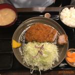 65172715 - 上ロース定食