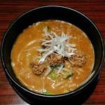 坦坦麺 利休 - 担担麺・醤油(820円)