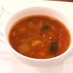 65173944 - スープ美味いp(^_^)q