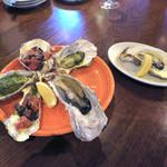 CONA - 牡蠣の追加〜♬