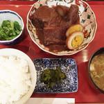 65174823 - 味噌おでん定食