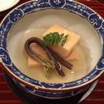 壽山 - はまぐり出汁で炊いた筍