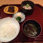 壽山 - 白ご飯とおかず