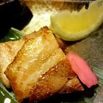 65176968 - 白金豚 バラ肉の塩麹焼き