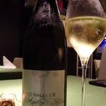 ワインレストラン ドミナス - ドイツのゼクト リースリングの泡です。