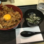 65178970 - 焼き肉丼 580円