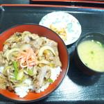 ビーフショップあさじ - 牛丼(並盛880円)