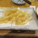一番鳥 - 白エビ天ぷら