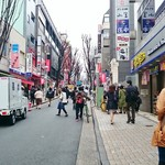 水漫庭 - その他写真:店舗前の神楽坂!