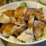 ミートステーション - 蒸鶏サラダ