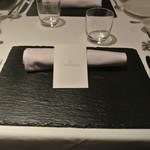 リストランテ カノフィーロ - テーブルセット