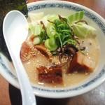 ひごもんず - 角煮ラーメン細麺バリカタごま油