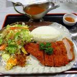 カフェ&レストラン 絵里珈 - カツカレーセット