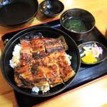 うなぎの旭屋 - 特上うなぎ丼 2000円