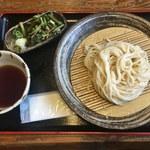 65184338 - 山菜うどん(冷)