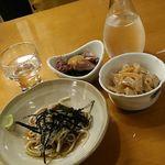 たちばな - 日本酒とお通し三種