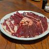 鷹匠壽 - 料理写真:お狩場焼きの鴨肉