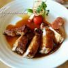 ゲシュマック - 料理写真:熟成あじ豚のリブロースステーキ