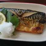みのり食堂 - 2017/04/08 11:50訪問 サバ塩焼き