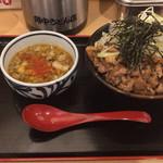 角中うどん店 - 2017/04/04 肉つけうどん(3玉)