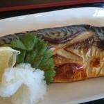 みのり食堂 - 2017/02/15 11:50訪問 サバ塩焼き