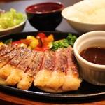 サーロインステーキ定食(120g)